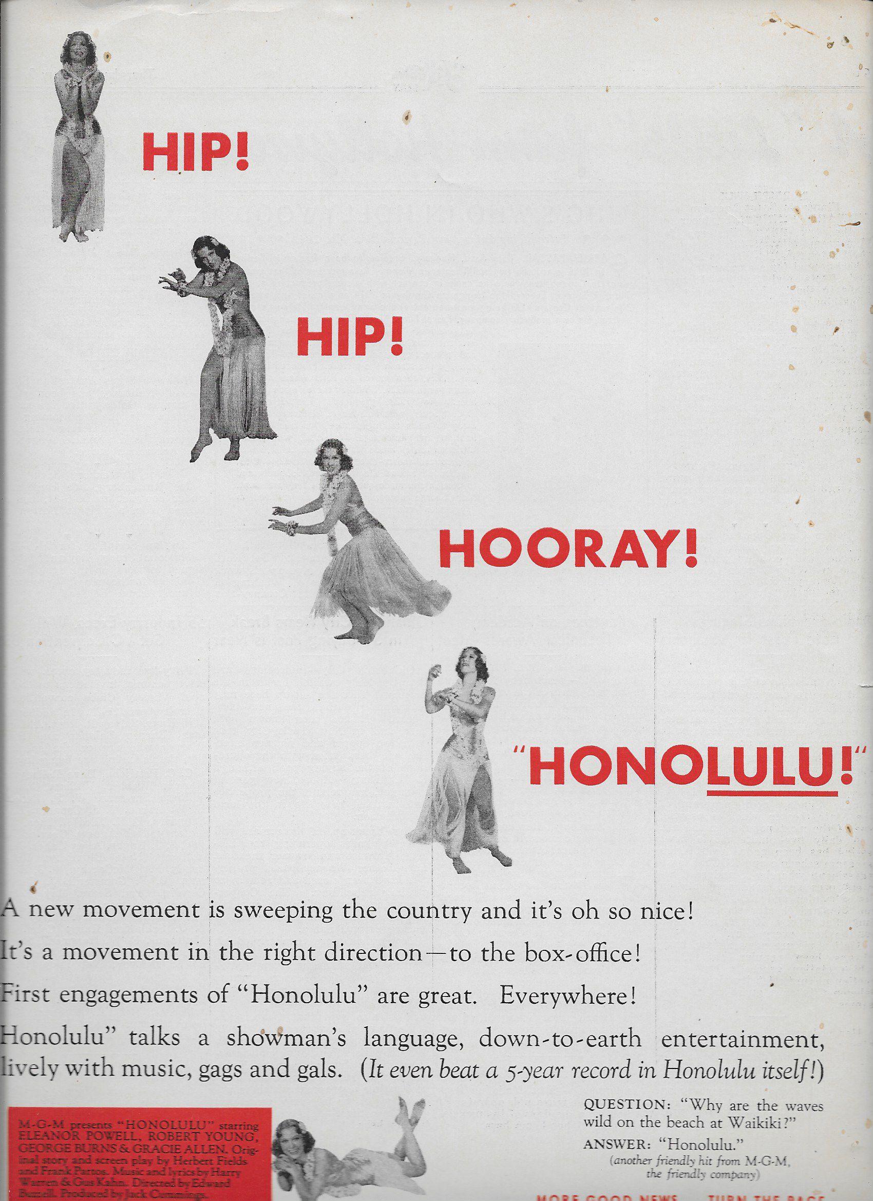 Eleanor Powell in Honolulu (1939)