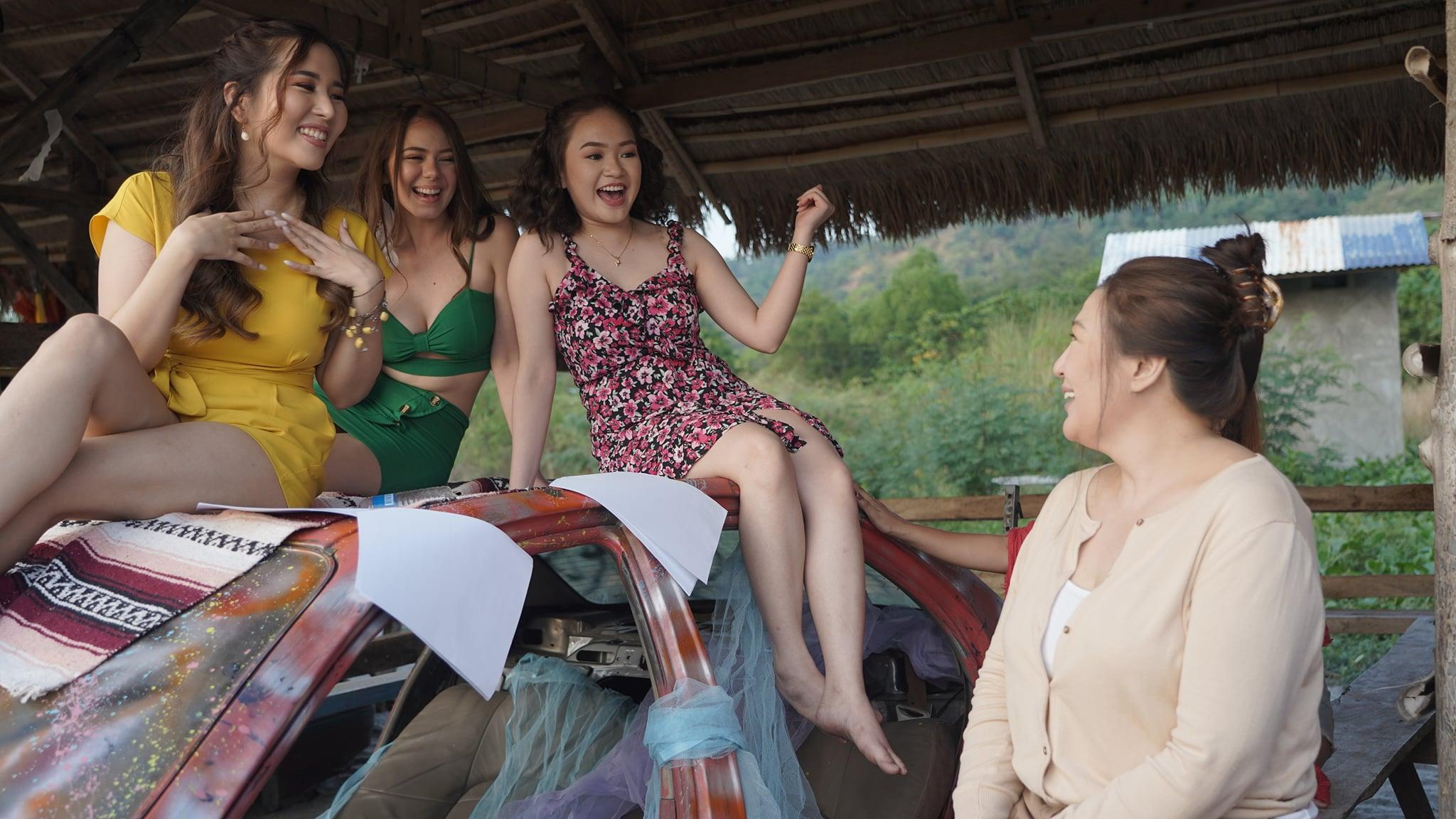 Sharon Cuneta, Abby Bautista, Rose Van Ginkel, and Marion Aunor in Revirginized (2021)