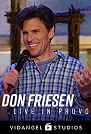 Don Friesen, Live in Provo Poster