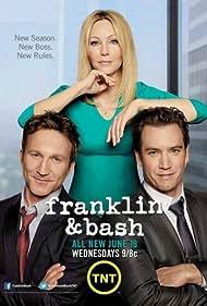 Heather Locklear, Mark-Paul Gosselaar, and Breckin Meyer in Franklin & Bash (2011)