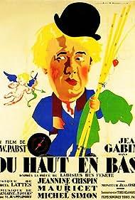 Jean Gabin in Du haut en bas (1933)