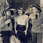 Smiley Burnette, Virginia Dale, and Mary Lee in The Singing Hill (1941)