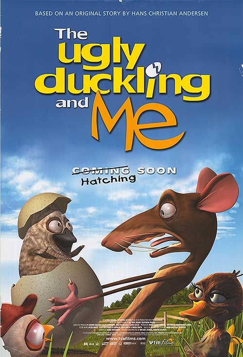 The ugly duckling Disney cartoon movie poster