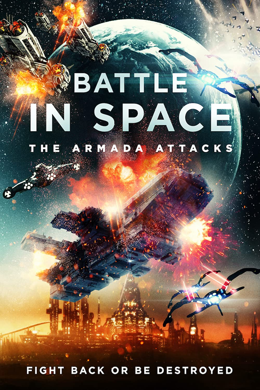 Battle in Space: The Armada Attacks 2021 English 720p HDRip 800MB | 300MB Download