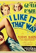 I Like It That Way (1934) Poster