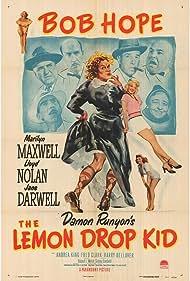 Bob Hope, Jane Darwell, Oliver Blake, Fred Clark, William Frawley, Tor Johnson, Andrea King, Marilyn Maxwell, and Lloyd Nolan in The Lemon Drop Kid (1951)