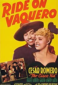 Cesar Romero, Mary Beth Hughes, and Lynne Roberts in Ride on Vaquero (1941)