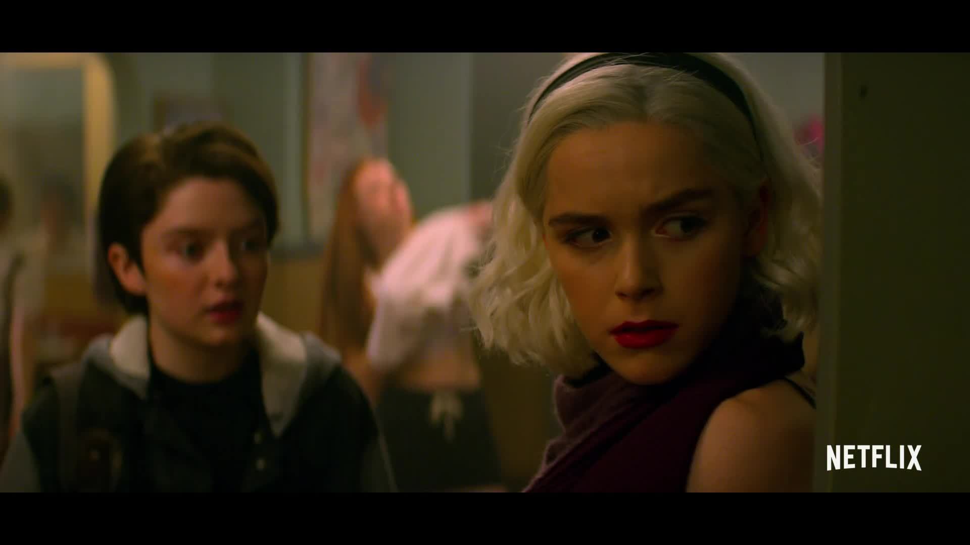 Season 2 Trailer From Chilling Adventures Of Sabrina 2018