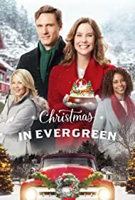 Holly Robinson Peete, Barbara Niven, Ashley Williams, and Teddy Sears in Christmas in Evergreen (2017)