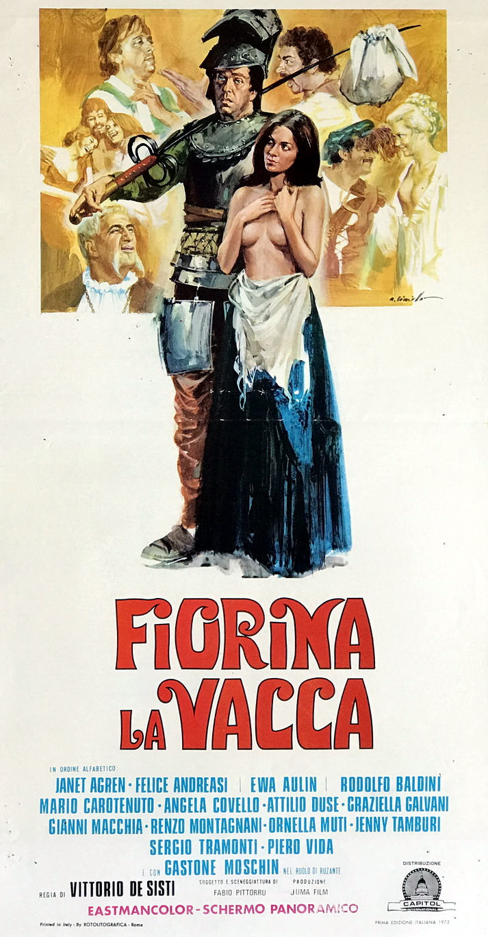 Felice Andreasi and Angela Covello in Fiorina la vacca (1973)