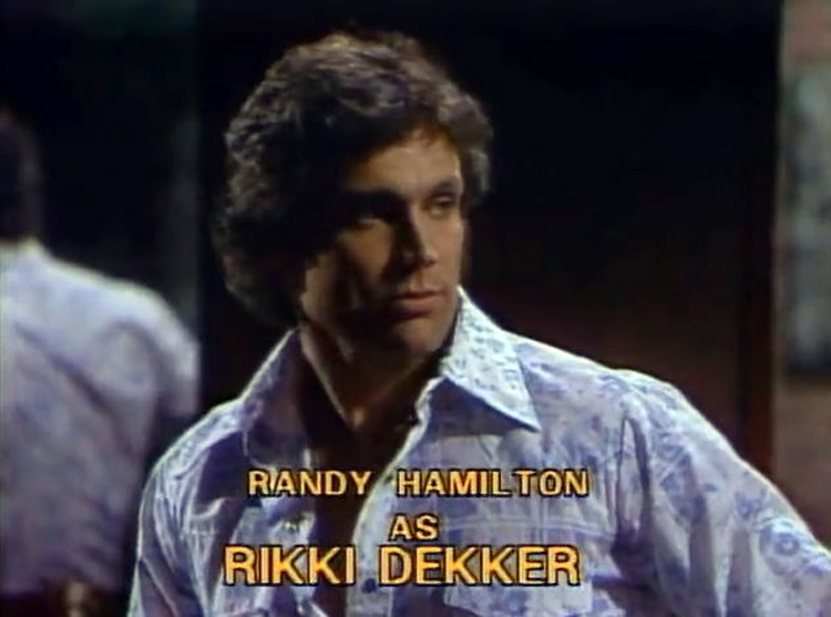 Randy Hamilton in Texas (1980)