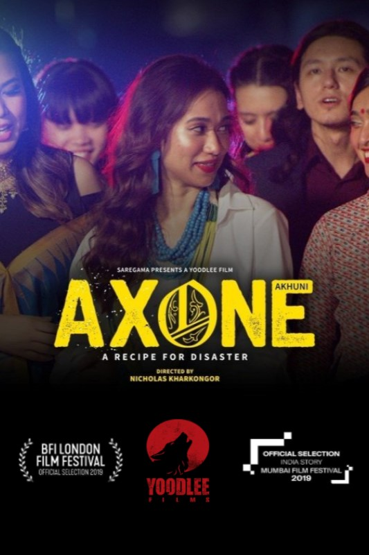 Axone 2020 Hindi Movie 720p NF HDRip 600MB ESubs MKV