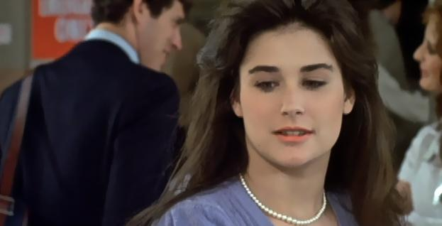 Demi Moore in Young Doctors in Love (1982)