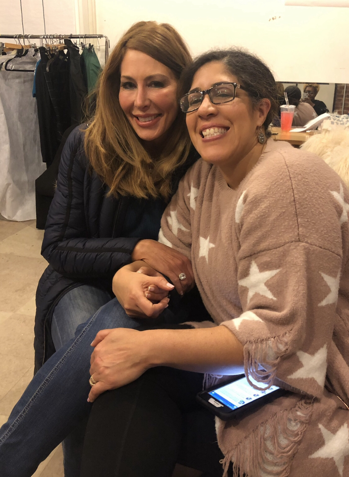 On the set of the Comedy Pilot SHAMELESS WOMEN with Actor, Comic, Activist Rain Pryor!