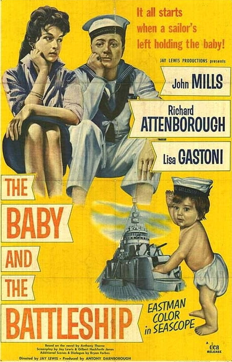 The Baby and the Battleship (1956)