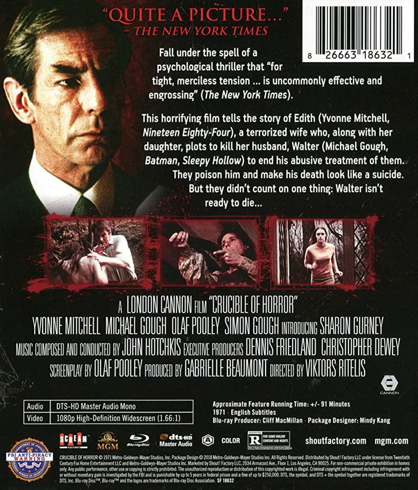 Crucible of Horror (1971)