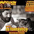 Julio Cortázar, Darío Lavia, and Chucho Fernández in Cineficción Radio (2019)