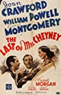 The Last of Mrs. Cheyney (1937) Poster