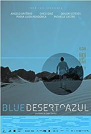 Blue Desert Poster