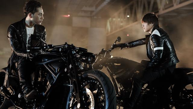 Takahiro and Hiroomi Tosaka in High & Low: The Movie (2016)