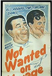 Not Wanted on Voyage Poster
