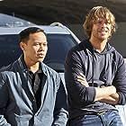 Eric Christian Olsen and Ernie Reyes Jr. in NCIS: Los Angeles (2009)