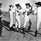 Edmund Cobb, Art Dillard, Jack Ingram, Henry Isabell, and Max Terhune in Wild Horse Rodeo (1937)