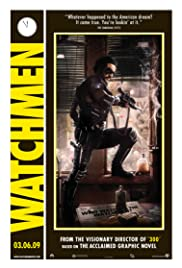 Watchmen Focus Point: Dave Gibbons Poster