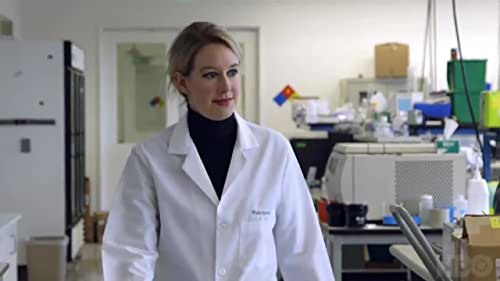 A documentary about the rise and fall of Theranos, the one-time multibillion-dollar healthcare company founded by Elizabeth Holmes.