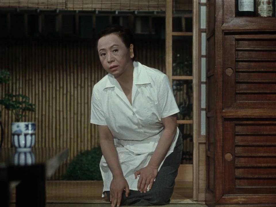 Teruko Nagaoka in Higanbana (1958)