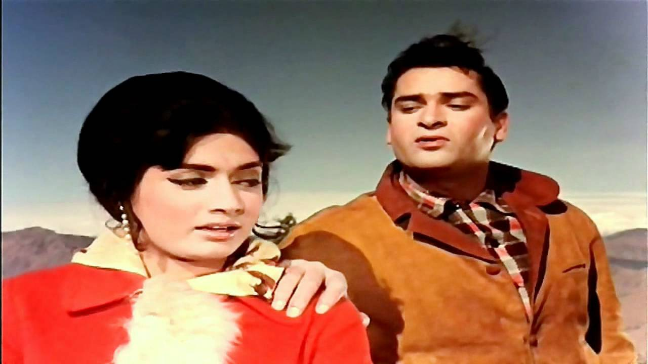 Shammi Kapoor and Rajshree in Janwar (1965)