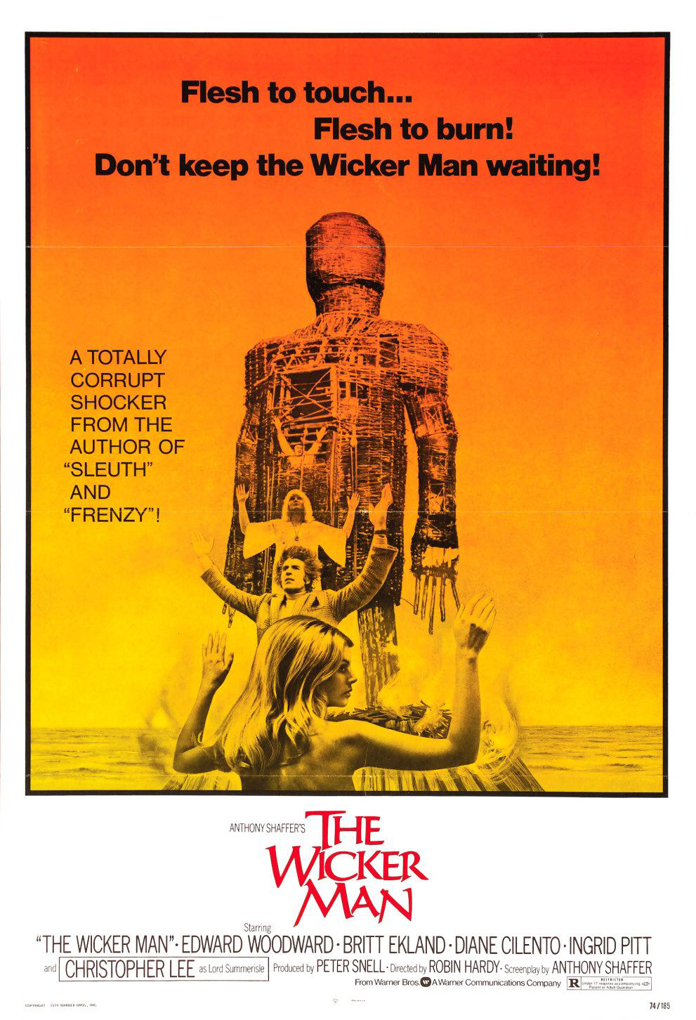 Link to Catalogue record for Wicker Man dvd