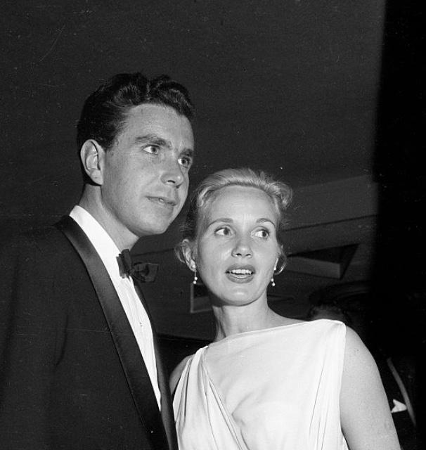 Eva Marie Saint at an event for The 29th Annual Academy Awards (1957)