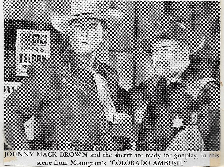 Johnny Mack Brown and Lyle Talbot in Colorado Ambush (1951)