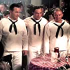 Gene Kelly, William 'Bill' Phillips, and Dick Wessel in On the Town (1949)