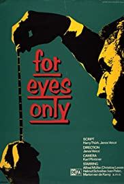 For Eyes Only Poster