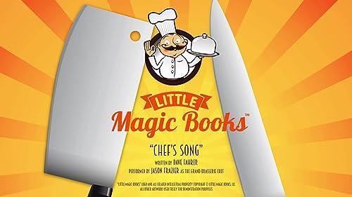 "Jason Frazier - ""Chef's Song"" (Little Magic Books)"