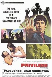 Privilege(1967) Poster - Movie Forum, Cast, Reviews