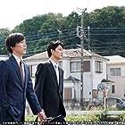 Ryûhei Matsuda and Yôjirô Noda in Nakimushi Shottan no kiseki (2018)