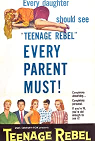 Ginger Rogers, Warren Berlinger, Lili Gentle, Diane Jergens, Betty Lou Keim, Michael Rennie, and Rusty Swope in Teenage Rebel (1956)