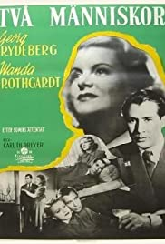 Två människor (1945) Poster - Movie Forum, Cast, Reviews