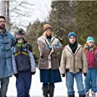 Toni Collette, Matthew Goode, Jordan Poole, Anton Gillis-Adelman, and Megan O'Kelly in Birthmarked (2018)
