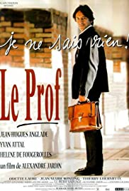 Le prof Poster