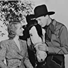 Dennis O'Keefe and Florence Rice in The Kid from Texas (1939)