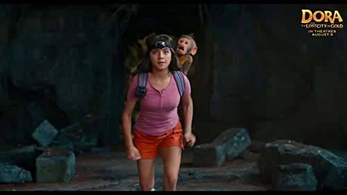 Having spent most of her life exploring the jungle with her parents, nothing could prepare Dora (Isabela Moner) for her most dangerous adventure ever - high school. Always the explorer, Dora quickly finds herself leading Boots (her best friend, a monkey), Diego (Jeffrey Wahlberg), a mysterious jungle inhabitant (Eugenio Derbez), and a rag tag group of teens on a live-action adventure to save her parents (Eva Longoria, Michael Peña) and solve the impossible mystery behind a lost city of gold.