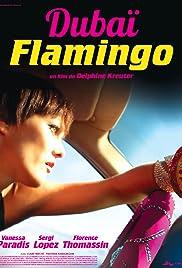 Dubaï Flamingo Poster