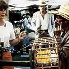 Ted Danson, Rodolfo De Alexandre, and Margot Kidder in Little Treasure (1985)