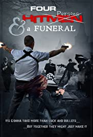 Four Hitmen and a Funeral Poster