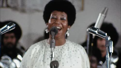 A documentary presenting Aretha Franklin with choir at the New Bethel Baptist Church in Watts, Los Angeles in January 1972.