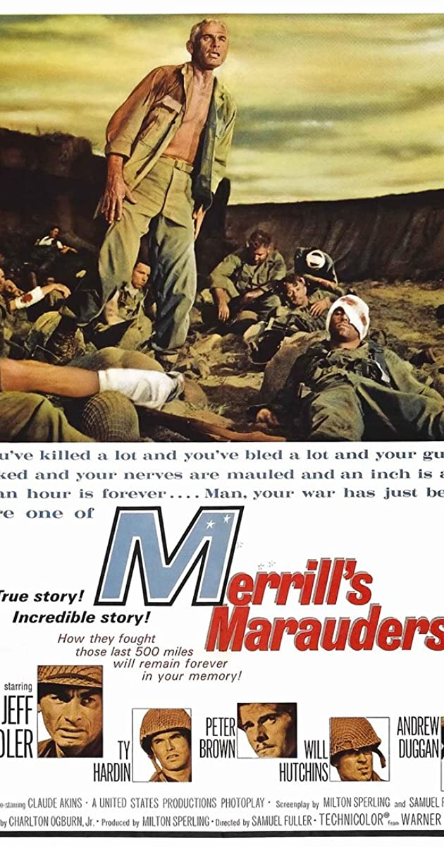 Subtitle of Merrill's Marauders